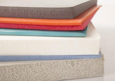 Sponge silicone rubber