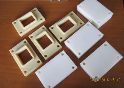 Details from technical plastics